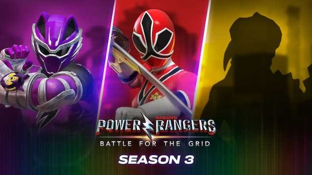 POWER RANGERS: BATTLE FOR THE GRID - Jungle Fury Purple Ranger Joins The Grid, With Action-Packed Trailer