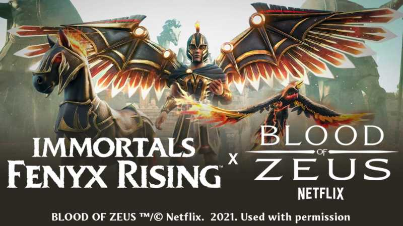 IMMORTALS FENYX RISING Has A Limited-Time Crossover With Netflix's BLOOD OF ZEUS