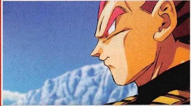 Dragon Ball Super Broly Reveals A New Look Of Super Saiyan God Vegeta