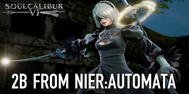 2B de Nier Automata em Soul Calibur VI