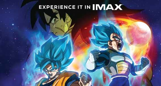 Dragon Ball Super Broly Becomes The First Anime To Hit Imax