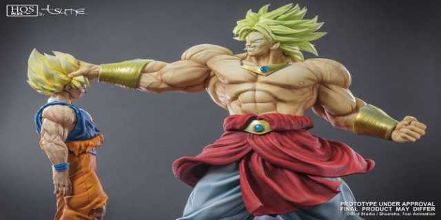Dragonball Z Broly Vs Goku Statue Has Been Announced