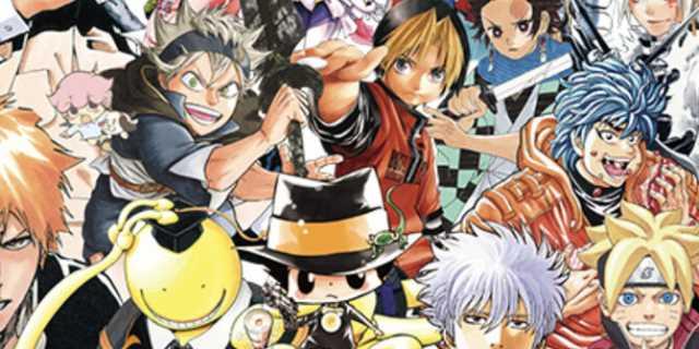 Shonen Jump Manga Publication S Print Run Decreased